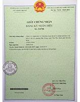 Thương hiệu NIKIO đã được Cục Sở Hữu Trí Tuệ cấp văn bằng bảo hộ toàn quốc
