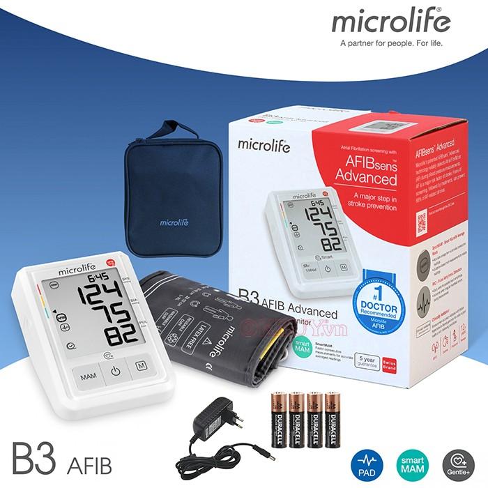 Máy đo huyết áp Microlife B3 Afib Advance