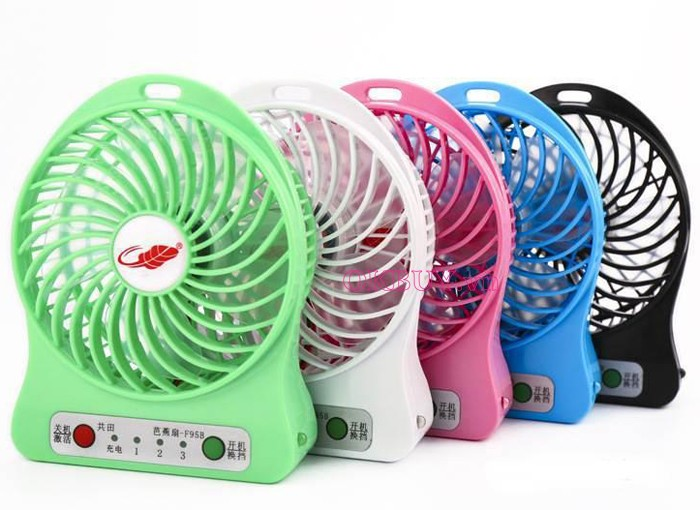 quạt mini fan HS118A
