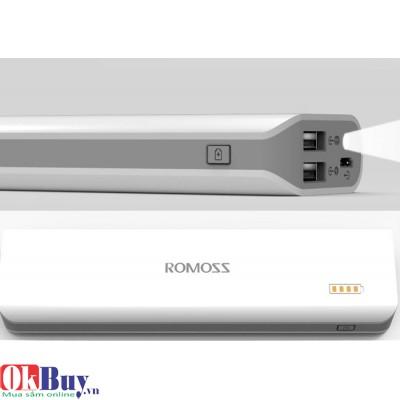 Pin sạc dự phòng Romoss Solo 4S PH40 8000mAh (2 cổng sạc, LED)