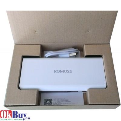 Pin dự phòng Romoss Sense 4 10400mAh chính hãng
