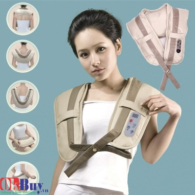 Đai massage vai lưng cổ gáy Neck Shoulder Massager W-808