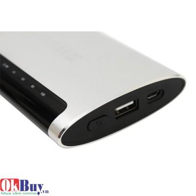 Pin sạc dự phòng điện thoại Questek QV-3305 - 8000mAh (Bạc - Đen)