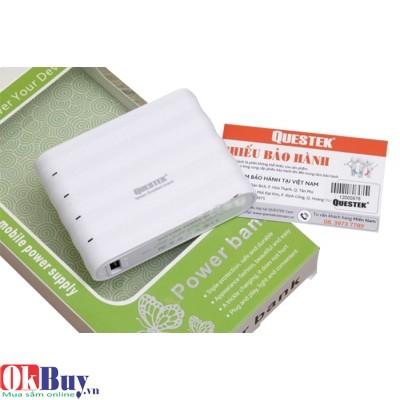 Pin sạc dự phòng điện thoại Questek QV-2202 - 7200mAh/ 2 cổng sạc