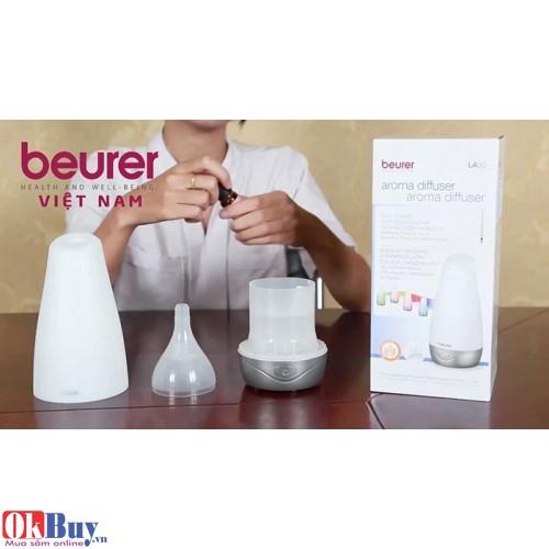 Đèn tạo ẩm phun tinh dầu diệt khuẩn Beurer LA30