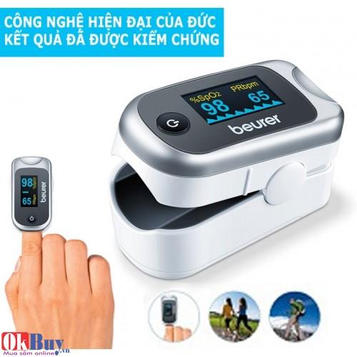 Máy đo nhịp tim và khí máu Beurer PO40