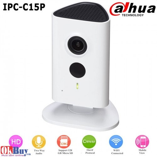Camera IP Wifi Chuẩn HD DaHua IPC-C15P