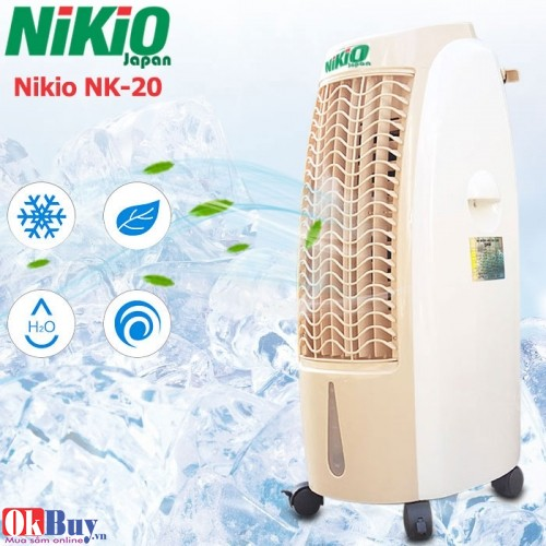 Quạt hơi nước gia đình Nikio NK-20