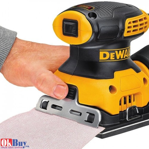 Máy chà nhám cầm tay mini Dewalt DWE6411 - 230W