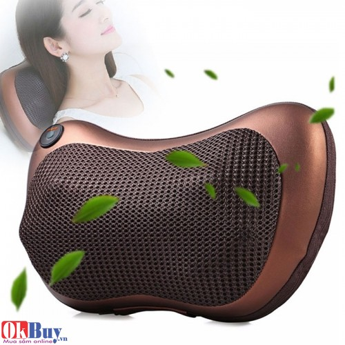 Gối massage hồng ngoại Nikio CHM-8028