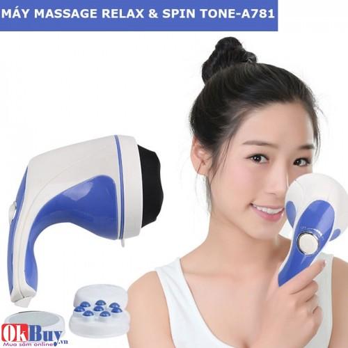 Máy massage cầm tay Relax & Spin Tone-A781
