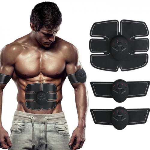 Máy massage xung điện tập GYM 6 múi Beauty Body pin sạc
