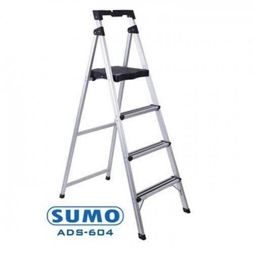 Thang ghế 3 bậc nhôm Sumo ADS-603 - 150Kg