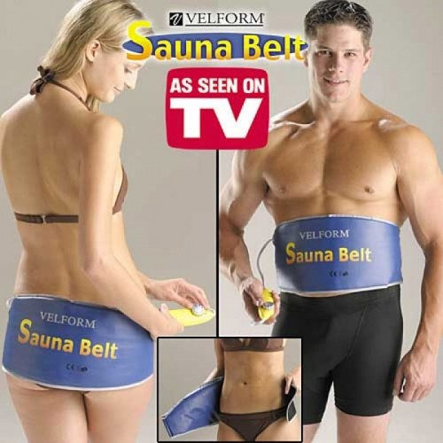 Đai quấn nóng giảm mỡ bụng Sauna Belt chính hãng giá rẻ