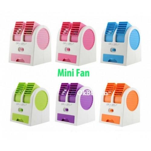 Quạt điều hòa mini để bàn 2 cửa Mini Fan