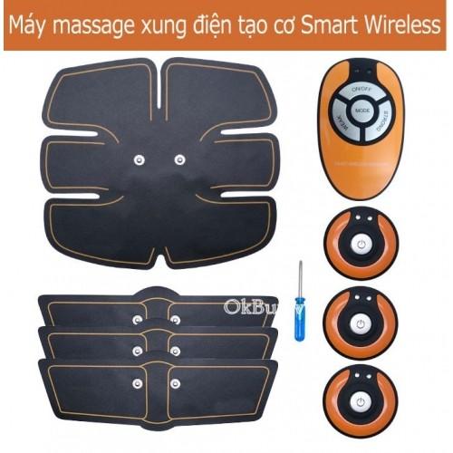 Máy massage xung điện tạo cơ bụng 6 múi Smart Wireless Mobile GYM