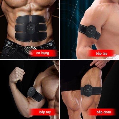Máy massage xung điện tập cơ bụng 6 múi GYM Beauty Body EMS