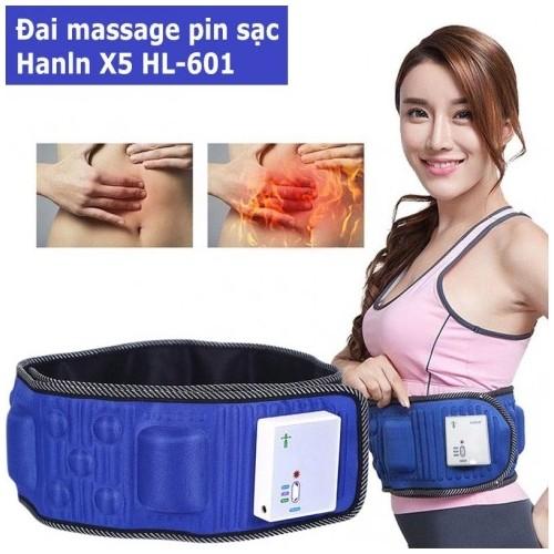 Đai massage bụng không dây pin sạc X5 Hanln HL-601 Chính Hãng