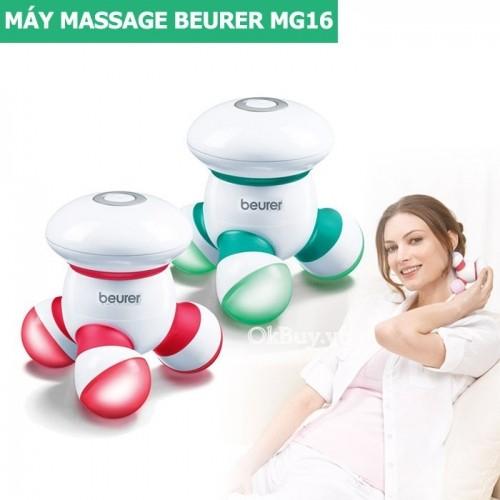 Máy massage cầm tay mini dùng pin Beurer MG16