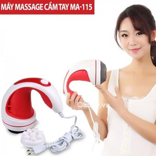 Máy massage cầm tay hồng ngoại 4 đầu MA-115
