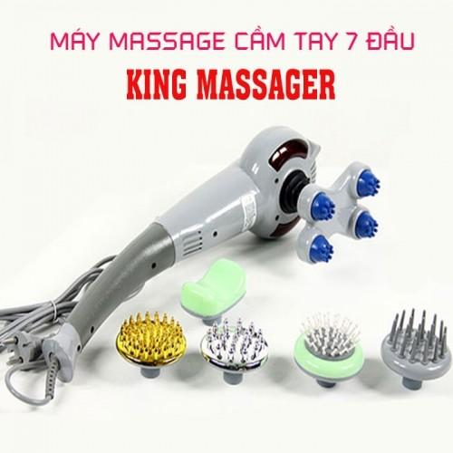 Máy massage cầm tay 7 đầu đa năng King Massager SL-999