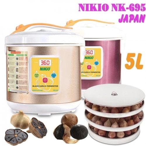 Máy làm tỏi đen Nhật Bản Nikio NK-695/ 5 lít - Dòng cao cấp