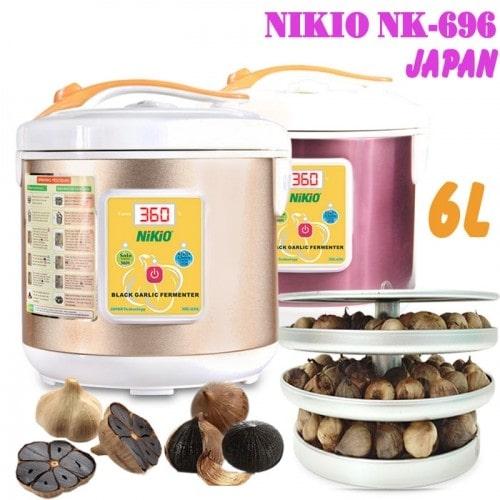 Máy làm tỏi đen Nhật Bản Nikio NK-696/ 6 lít - Dòng cao cấp
