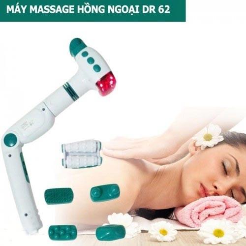 Máy massage cầm tay đèn hồng ngoại DR 62 - 6 Đầu