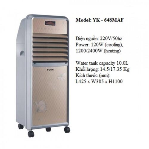 Quạt điều hòa không khí nóng lạnh Yuiki YK-648 MAF