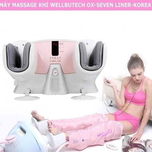 Máy nắn chân và massage khí WELLBUTECH OX-Seven Liner-Korea