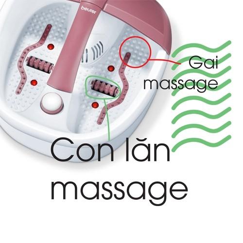 Bồn ngâm massage chân hồng ngoại Beurer FB35 - Đức