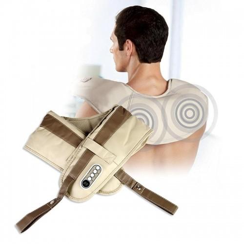 Máy massage đấm bóp lưng, cổ vai gáy Hàn Quốc Neck W-808 - Loại xịn 2kg