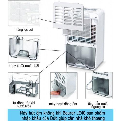 Máy hút ẩm không khí gia đình Beurer LE40