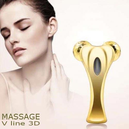 Máy massage cầm tay nâng cơ mặt tạo cằm V line 3D massager