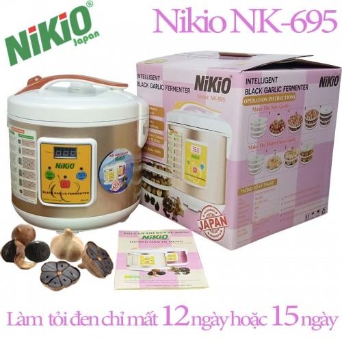 Máy làm tỏi đen chuyên dụng Nhật Bản Nikio NK-695 - 5 lít