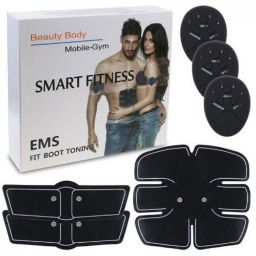 Máy massage xung điện pin sạc tập GYM 6 múi Beauty Body
