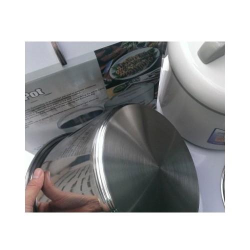 Nồi ủ chân không giữ nhiệt Thermo Pot SX-80CF 8 lít inox 304