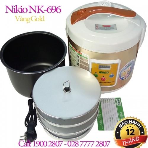 Máy làm tỏi đen chuyên dụng Nhật Bản Nikio NK-696 - 6L