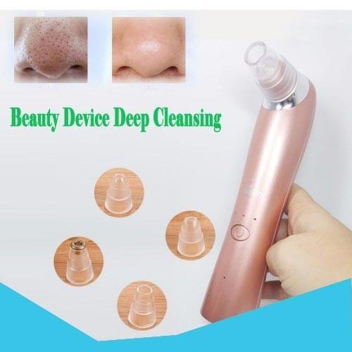 Máy hút mụn Beauty Device Deep Cleansing 4 đầu 3 chế độ hút