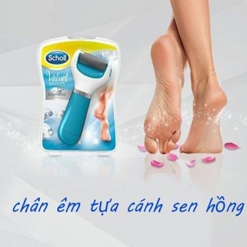 Máy chà gót chân Diamond giá rẻ xài pin tiểu