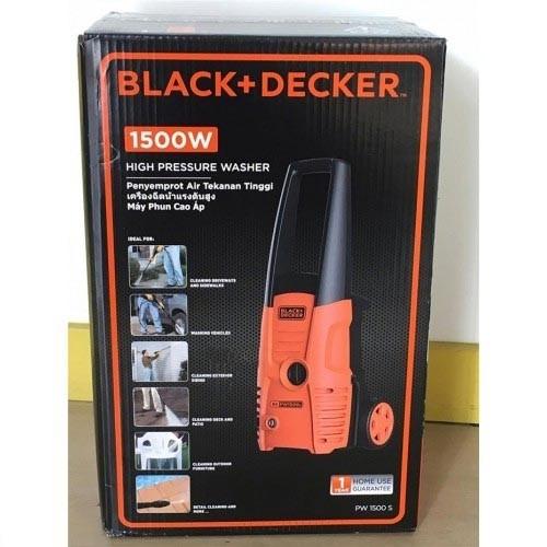 Máy rửa xe cao áp Black&Decker PW1500S - 1500W