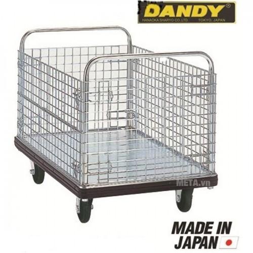 Xe đẩy kéo hàng khung thép Dandy DA-BW Japan - 300kg