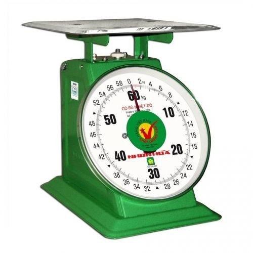 Cân bàn lò xo đồng hồ Nhơn Hòa 60Kg CĐH-60 - Hàng chính hãng