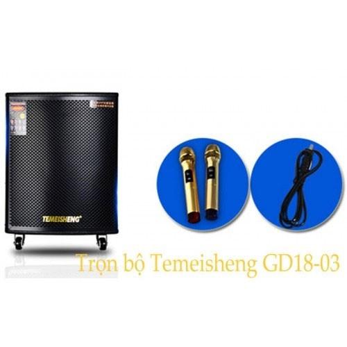 Loa kéo Karaoke Temeisheng GD18-03