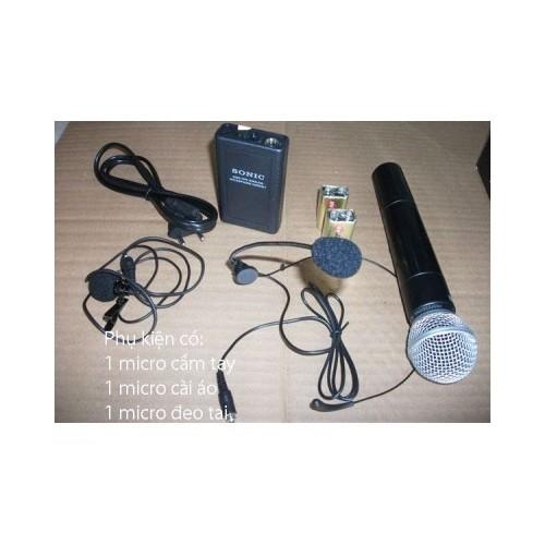 Máy trợ giảng (loa trợ giảng) Sonic BG-010 - 3 micro