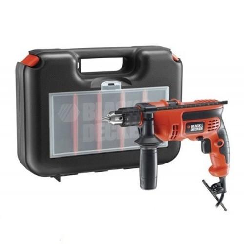 Bộ vali máy khoan cầm tay Black&Decker KR704REKP20-B1 - 710W