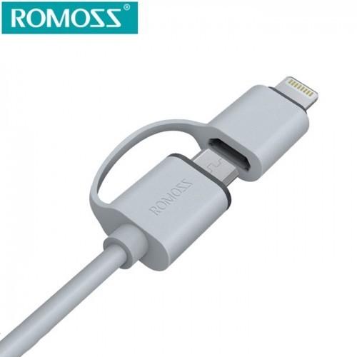 Cáp sạc điện thoại đa năng Romoss CB20-iphone 6 và Samsung