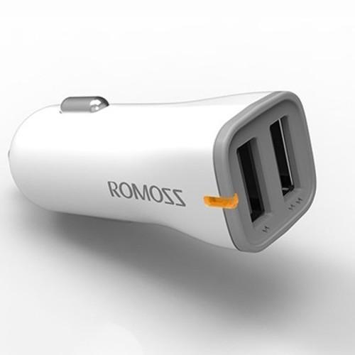Cục sạc nguồn ô tô Romoss Range 17/ 1A-2A/ 17W