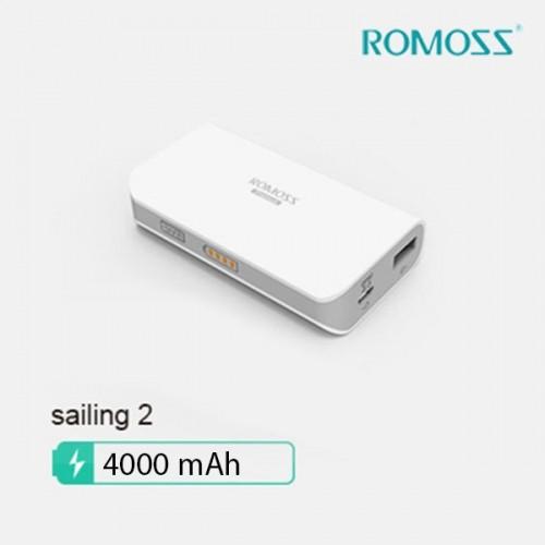Pin sạc dự phòng Romoss Sailing 2 PH20-4000mAh