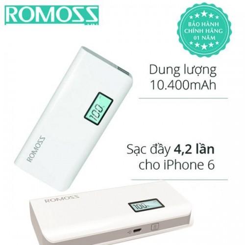 Pin sạc dự phòng điện thoại Romoss Sense 4 Plus 10400mAh